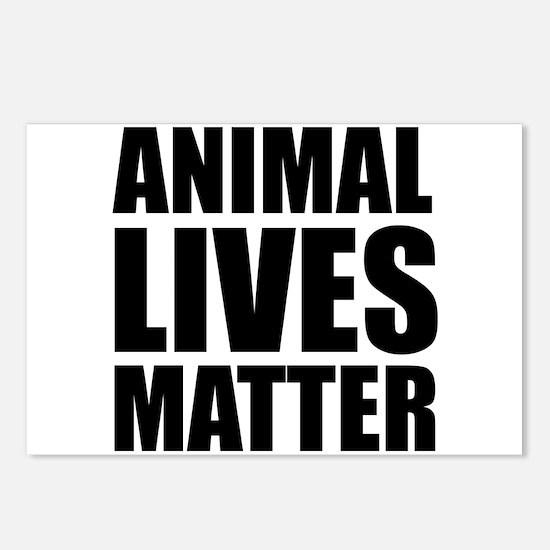 Animal Lives Matter Postcards (Package of 8)