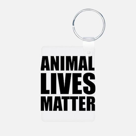 Animal Lives Matter Keychains