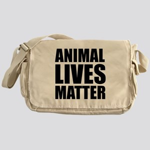 Animal Lives Matter Messenger Bag