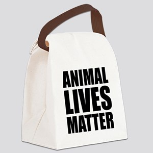 Animal Lives Matter Canvas Lunch Bag