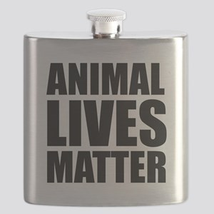 Animal Lives Matter Flask