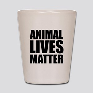 Animal Lives Matter Shot Glass