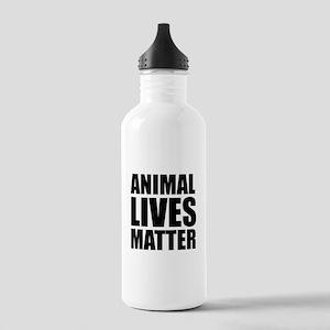 Animal Lives Matter Water Bottle