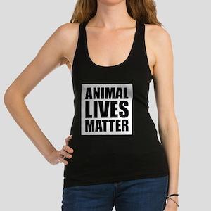 Animal Lives Matter Racerback Tank Top