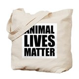 Animal rights Tote Bags