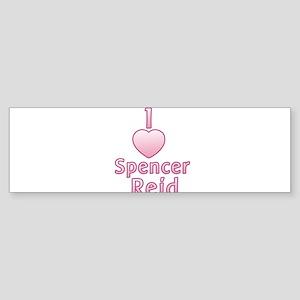 I heart Spencer Reid Bumper Sticker