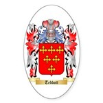Tebbott Sticker (Oval)