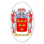 Tebbott Sticker (Oval 50 pk)