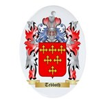Tebboth Oval Ornament