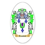 Teasdale Sticker (Oval 10 pk)