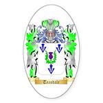 Teasdale Sticker (Oval 50 pk)
