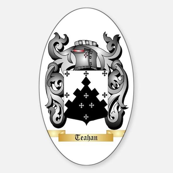 Teahan Sticker (Oval)