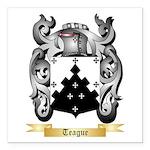Teague Square Car Magnet 3