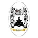 Teague Sticker (Oval 50 pk)