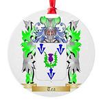 Tea Round Ornament