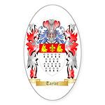 Taylor (Ireland) Sticker (Oval 10 pk)
