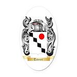 Tavner Oval Car Magnet