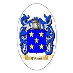 Tavares Sticker (Oval 50 pk)