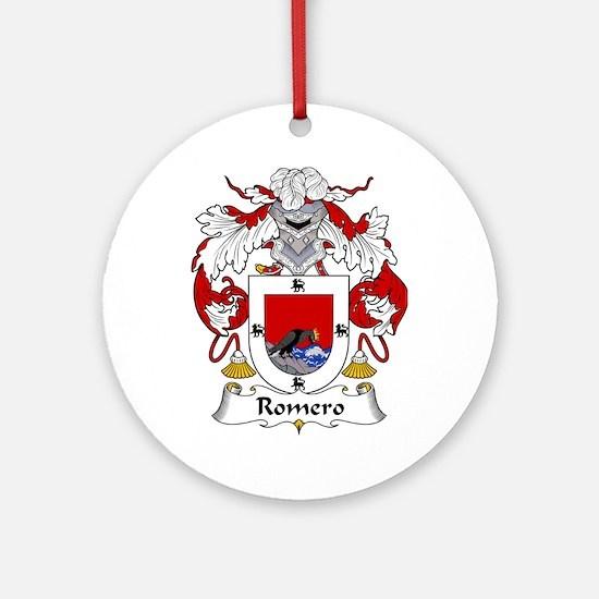 Romero Ornament (Round)