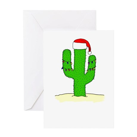 Cactus Wishes Greeting Card