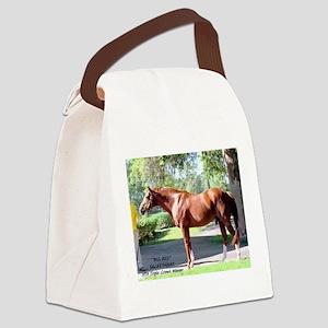 "SECRETARIAT ""Big Red"" Canvas Lunch Bag"