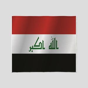 Iraq flag Throw Blanket