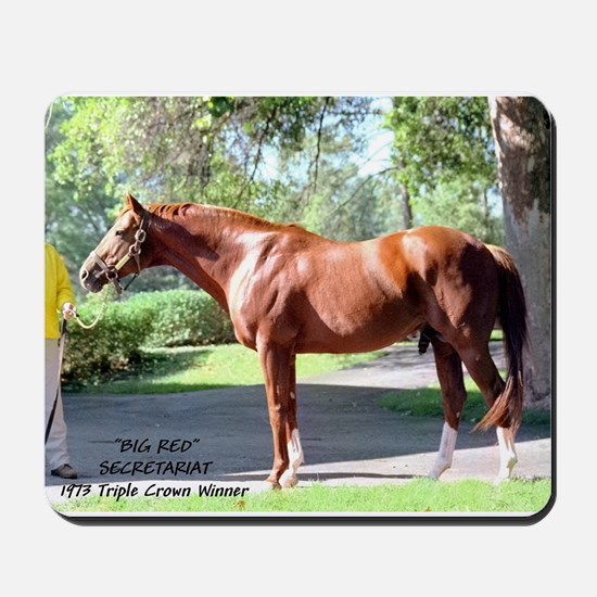 "SECRETARIAT ""Big Red"" Mousepad"