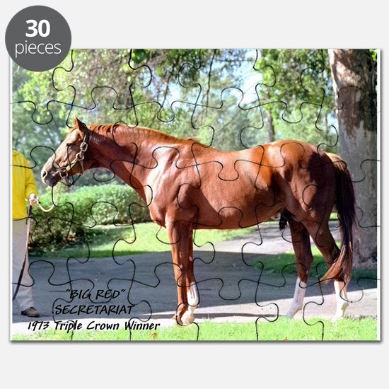 "SECRETARIAT ""Big Red"" Puzzle"