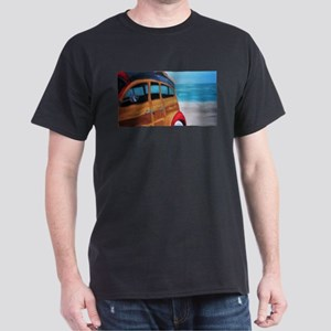 SURFIN SAFARI WOODIE Dark T-Shirt