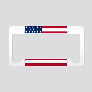 United States Flag License Plate Holder