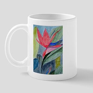 BIRD OF PARADISE COLLAGE Mug