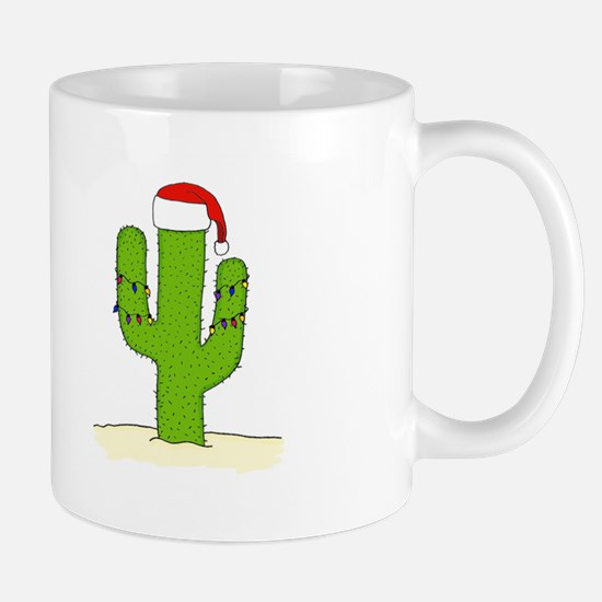 Christmas Cactus Mug