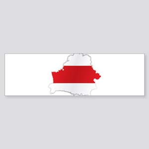 National territory and flag Belarus Bumper Sticker
