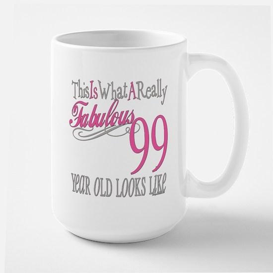 99th Birthday Gift Large Mug