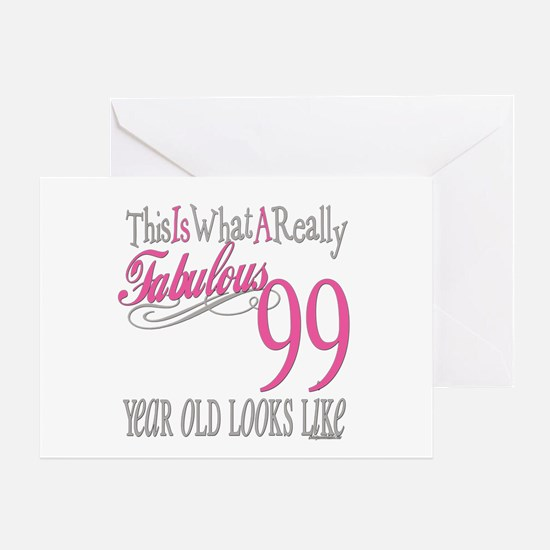 99th Birthday Gift Greeting Card