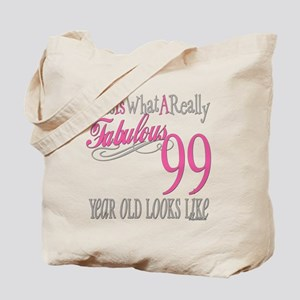 99th Birthday Gift Tote Bag