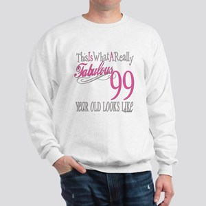 99th Birthday Gift Sweatshirt
