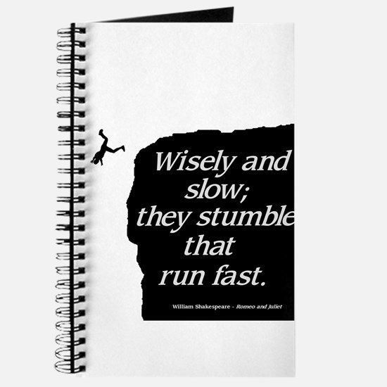 Wisely and Slow Journal