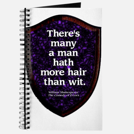 More Hair than Wit Journal