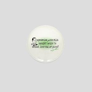 Remember When? Mini Button