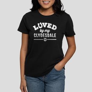 Clydesdale Horse Lover Women's Dark T-Shirt