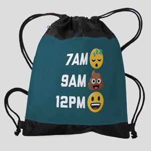 Emoji Times Drawstring Bag