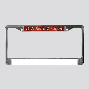 dragonlicensetop License Plate Frame