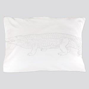 Alligator design art Pillow Case