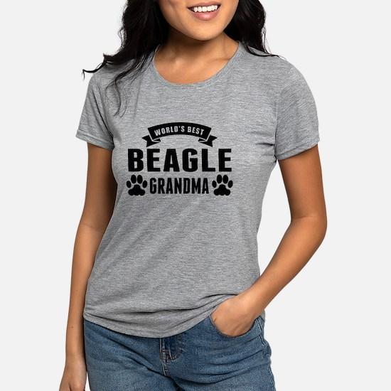 Worlds Best Beagle Grandma T-Shirt