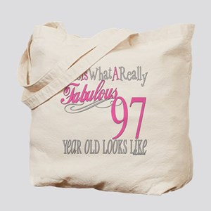 97th Birthday Gifts Tote Bag