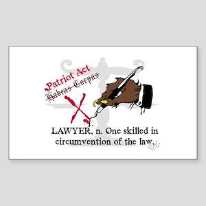 Got Lawyers? Rectangle Sticker