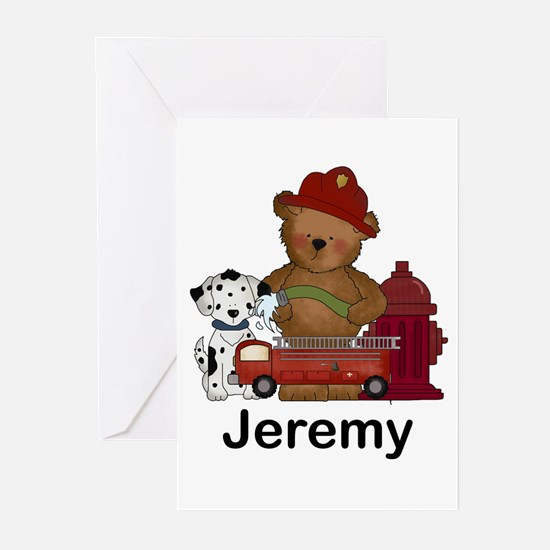 Jeremy's Fire Bear Greeting Cards (Pk of 20)