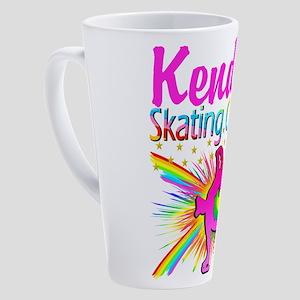 SKATING QUEEN 17 oz Latte Mug