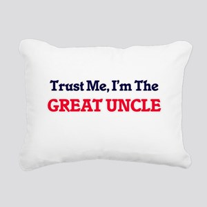 Trust Me, I'm the Great Rectangular Canvas Pillow